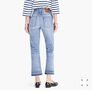 J. Crew Pants - J.Crew Point Sur Kickout Crop Jean